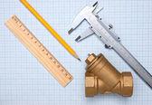 Water inlet valve — Stock Photo
