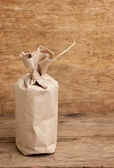 Package of kraft paper — Stock Photo