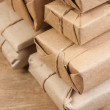 Stack parcel in warehouse — Stock Photo #5420017