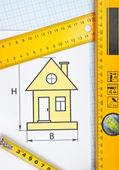Development drawings — Stock Photo