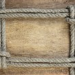 Frame made of rope — Stock Photo #5476535