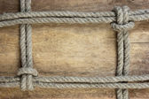 Frame made of rope — Stock Photo