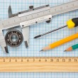 Stock Photo: Technical tools