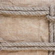 Frame made of rope — Stock Photo #5668979