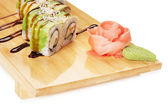 Traditionell asiatisk mat sushi — Stockfoto