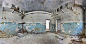 Old and abandoned house inside hdr panorama — Stock Photo