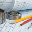 Technical drawing — Stock Photo