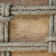 Frame made of rope — Stock Photo #5822941