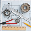 Technical drawing — Stockfoto #5861574