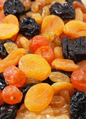 Dried fruit slices — Stock Photo