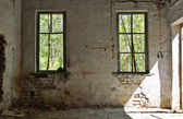 Old abandoned house inside — Stock Photo