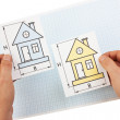 Stock Photo: Development drawings