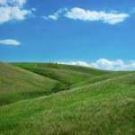 Green hills — Stock Photo #6003758