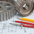 Technical drawing — Stock Photo #6205852