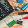Stock Photo: Electronic components