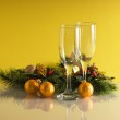 Glasses of wine — Stock Photo #6688327