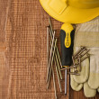 Concpt of building tools — Stock Photo