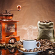 Stock Photo: Still life with coffee.tif