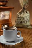 对象的咖啡 — 图库照片