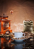 Still life with coffee.tif — Stock Photo