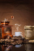 Still life with coffee — Stock Photo