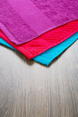 Three towels — Foto Stock