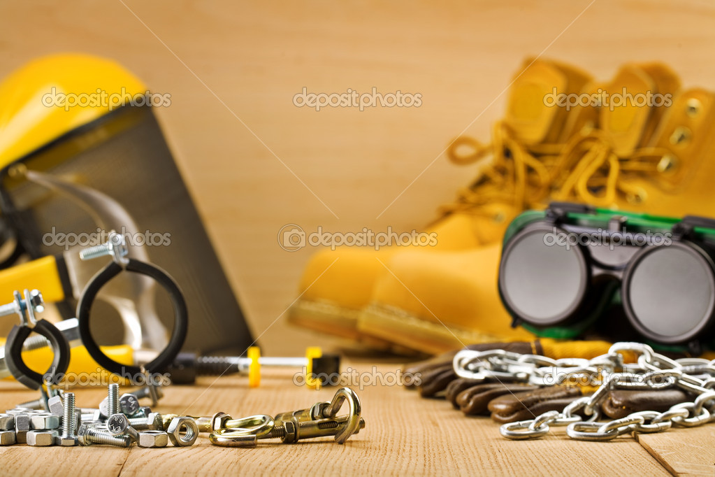 Safety tools  Stock Photo #6405653