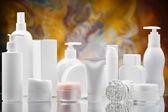Big set of skincare items — Stock Photo