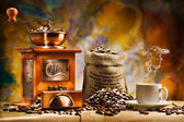 Coffee for still life — 图库照片