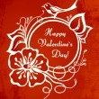 Royalty-Free Stock Vector Image: Valentine`s day card