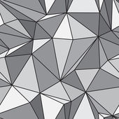 Seamless texture - gray polyhedra - vector — Stock Vector