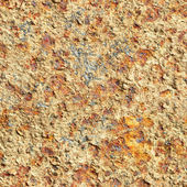 Seamless texture - surface of oxidized old iron sheet — Stock Photo