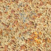 Seamless texture - surface of oxidized old iron sheet — Stock Photo