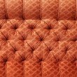 Red antique furniture upholstery - background — Stock Photo