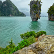 Exotic island near Phuket. Thailand. - Stock Photo