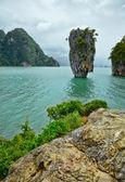 Exotic island near Phuket. Thailand. — Stock Photo