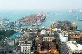 Colombo harbor — Stock Photo