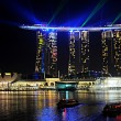 Marina Bay Sands resort - Foto Stock