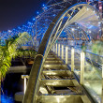 Helix Bridge — Stock Photo #5875800