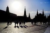 La plaza roja en moscú — Foto de Stock