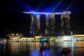 Marina Bay Sands resort — Stock Photo