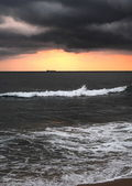Dramatic sunset — Stock Photo