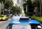 Singapore taxi — Stock Photo