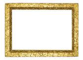 在白色的帧 — 图库照片