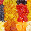 Assortment dried fruits — Stock Photo