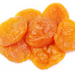 Stock Photo: Dried apricots