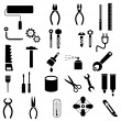 Stock Vector: Tools - vector icons