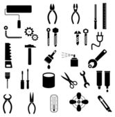 Tools - vector icons — Vector de stock