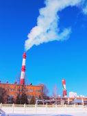 Het beeld van de fabriek — Stockfoto
