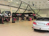 Garajı tamir — Stok fotoğraf